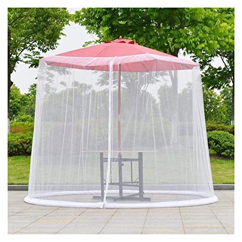 REWD Cubierta de Mosquito de jardín al Aire Libre, Paraguas de Patio Cubiertas de Parasol Impermeable Fibra de poliéster para Parasol o un Mirador - Excluyendo Paraguas y Base (Color : Default)
