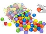 EevOveE 50 pcs Medium Size No Sharp Edges Premium Quality Balls Color Balls
