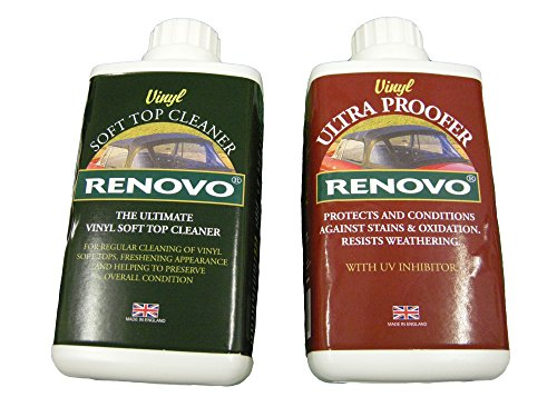 Renovo REN-KIT11 Doppel-Washer-Kit Enthält Vinyl Cleaner Und Proofer, 500 ml