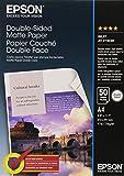 Epson Papier Photo Mat Couché Double Face A4 210 X 297 Mm - 50 Feuilles