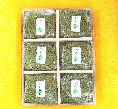 山椒の実 佃煮青実山椒 佃煮 詰め合わせ 贈答用包装します