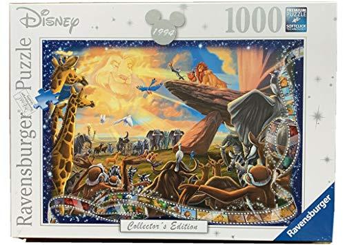 7477 ディズニー ライオンキング コレクターズエディション ジグソーパズル パズル 1000ピース  Disney Classics The Lion King Puzzle [並行輸入品]
