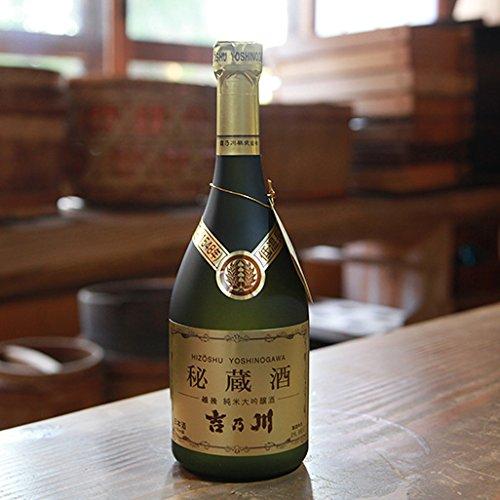 吉乃川純米大吟醸秘蔵酒