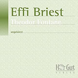 Effi Briest                   Autor:                                                                                                                                 Theodor Fontane                               Sprecher:                                                                                                                                 Verena Wolfien                      Spieldauer: 11 Std. und 1 Min.     28 Bewertungen     Gesamt 4,0