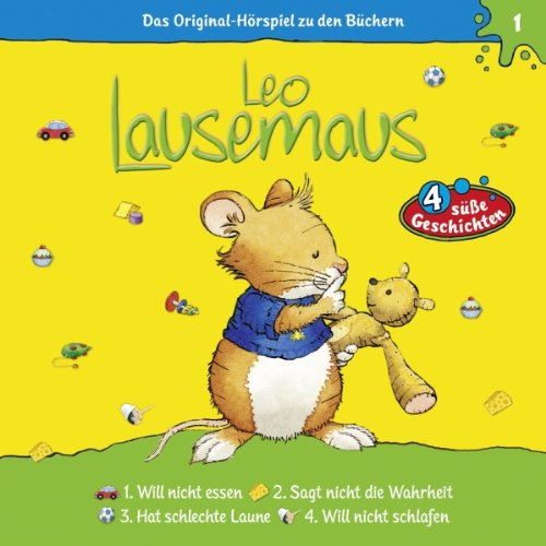 Leo Lausemaus will nicht essen (Leo Lausemaus 1) audiobook cover art