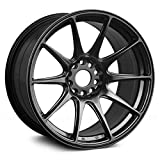 XXR Wheels 527 Chromium Black Wheel with Painted Finish (17 x 8.25 inches /4 x 100 mm, 25 mm Offset)