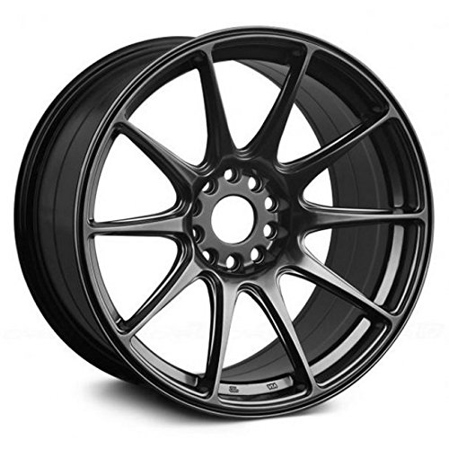 XXR Wheels 527 Chromium Black Wheel with Painted Finish (17 x 8.25 inches /5 x 100 mm, 35 mm Offset)