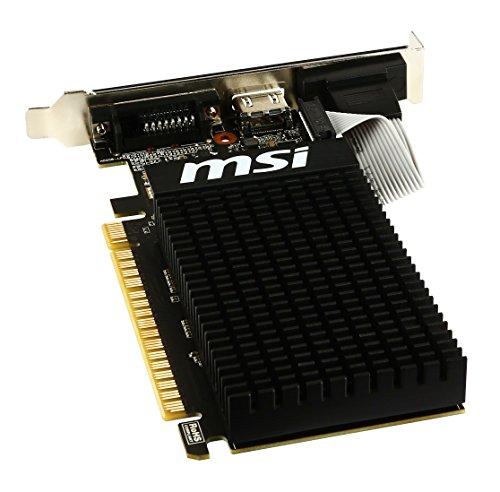 『MSI GeForce GT710 GDDR3 1GB グラフィックスボード VD5932』の5枚目の画像