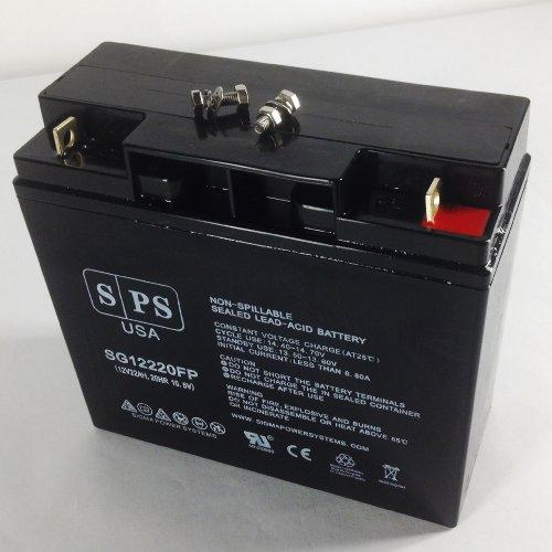 SPS Brand 12V 22Ah Wheelchair Replacement Battery for DieHard Platinum 1150 Portable Power JumpStart Starter