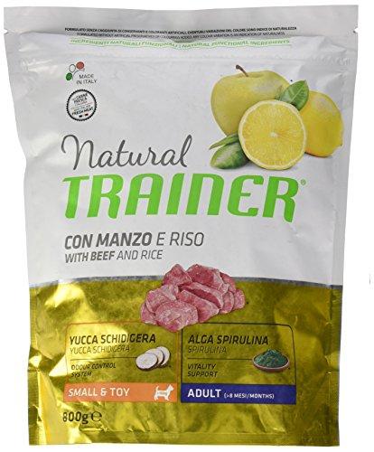 Natural Trainer Trainer Natural Small Manzo Riso GR. 800 Cibo Secco per Cani, Multicolore, Unica