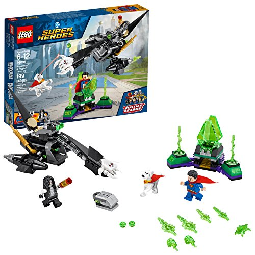 LEGO DC Super Heroes Superman & Krypto Team-Up 76096 Building Kit (199 Piece)