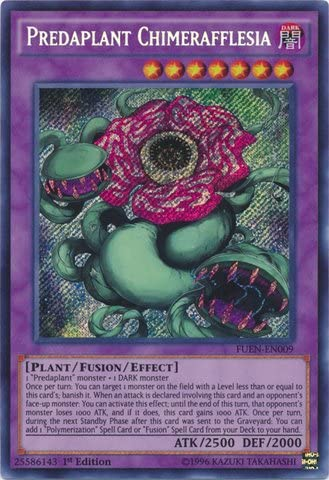 1x Predaplant Chimerafflesia FUEN-EN009 NM Yugioh 1st Edition SCR