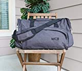 Free Brand Plaque en bois pour maison, cadeau personnalisé, sac de weekend, sac fourre-tout personnalisé, sac de sport, sac de voyage, cadeau pour témoin de marié, plaque en bois