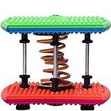 DDL Elliptique Machine Cross Trainer Double Corps de Ressort Dance Machine Yoga Danse aérobie Twist Run avec Stepper - Home Gym Tonique entraînement Fitness Body Trainer Machine d'exercice