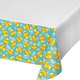 Creative Converting Plastic Tablecover, 54' x 102', Multicolor