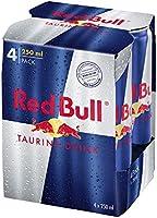 Redbull Energy Drink, 4 X 250 ml - Pack of 1