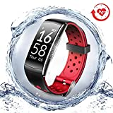LNGOOR Fitness Tracker Watch Activity Tracker Watch - Fitness Watch, IP68 Waterproof Step Calorie...