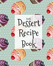 Blank Dessert Recipe Book: Blank Dessert Recipe Book; Dessert Recipe Journal; Lined, Ruled; Empty Cookbook Desserts; Best Gift idea; Sweets; Handwritten, Personalized Pages;