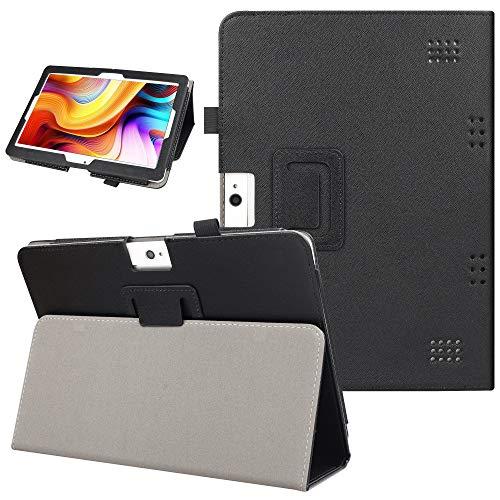 KuRoKo Notepad K10 / Max10 Tablet Hülle, Folio Cover mit Standfunktion Hülle kompatibel mit Lectrus 10.1, Victbing 10, Hoozo 10, Winsing 10, Zonko 10.1