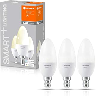 LEDVANCE LED Lamp | E14 | Warm White | 2700 K | 5 W = 40 W | Smart+ WiFi Candle Dimmable