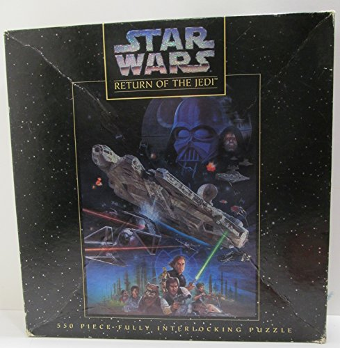 Star Wars~ RETURN OF THE JEDI 550 Pieces Fully Interlocking Puzzle