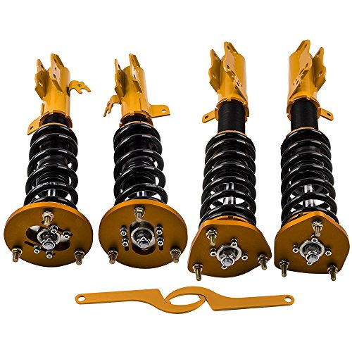 Height Adjustable Coilovers for Toyota Camry 1992-2001 Avalon 1995-2003 Solara 1999-2003 for Lexus ES300 1992-2001 Lowering Shocks Absorbers Suspension Coil Springs Struts