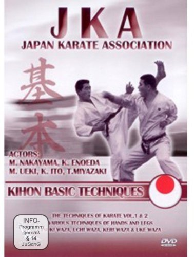 JKA Japan Karate Association - Kihon Basic Techniques