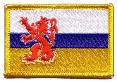 Flaggenfritze Flaggen Aufnäher Niederlande Limburg Fahne Patch + gratis Aufkleber