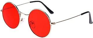 Phenomenal Round Unisex Sunglasses (Red)
