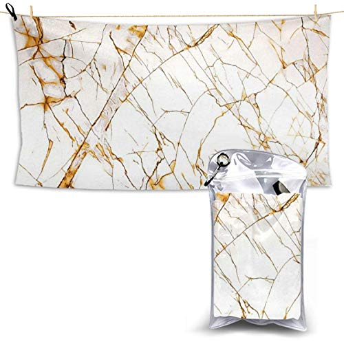 XCNGG Toallas de baño de Secado rápido Toallas de baño para el hogar Toallas Quick Dry Bath Towel, Absorbent Soft Beach Towels, Marble Pattern for Camping, Backpacking, Gym, Travelling, Swimming,Yoga