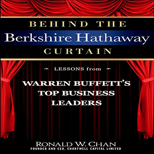 Behind the Berkshire Hathaway Curtain audiobook cover art