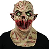 thematys Silence Alien Dead Zombie Mask Carnaval, Carnaval y Halloween - Disfraz de Adulto - Látex, Unisexo Talla única