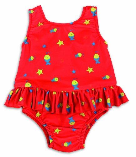 Bambinomio Culotte de Maillot de Bain avec pour bébé XL – Rouge