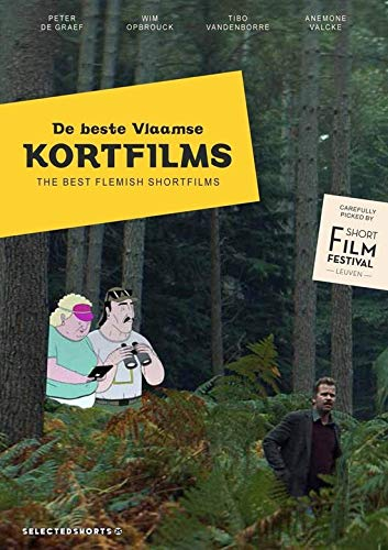Selected Shorts 25 - The Best of Flemish Short Films ( The Day the Dogs Disappeared / Sons of No One / Maverick / The Life of Esteban / Saint Hubert / Remise / [ Blu-Ray, Reg.A/B/C Import - Belgium ]