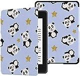 Coques Kindle Paperwhite pour Filles Happy Panda Big Black Eye 10e génération Coque...