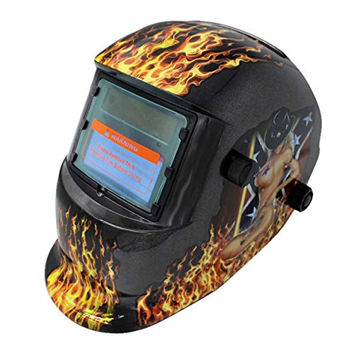 MXECO Soldadura fotoeléctrica variable automática Máscara Soldadora Soldadura Soldadura Argón Soldadura por arco Pantalla protectora de protección laboral (funcionarios holandeses)