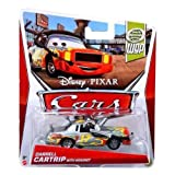 Darrel Cartrip with headset Part of Disney Pixar Cars race team 1:55 die cast vehicle Collect and race them all