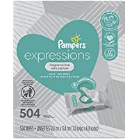 504-Count Pampers Fragrance Free Baby Wipes
