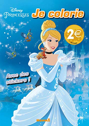 Disney Princesses - Je colorie