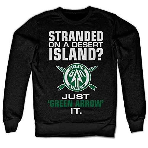 Arrow - Just Green Arrow It Sweatshirt (Black), Medium