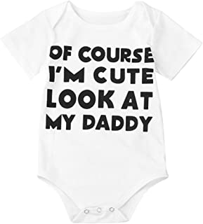 RQWEIN Baby Unisex Baby Christmas Outfits Long Sleeve Romper Pajama Girls Boys My First Christmas Rompers