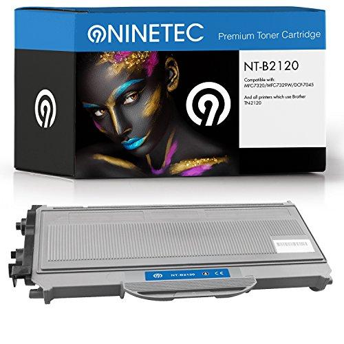 Original NINETEC NT B2120 Toner Kartusche Black kompatibel mit Brother TN 2120