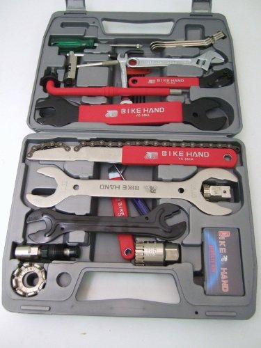 BHBLuE Bike Hand Tool Kit Bike Bicycle Repair Home Mechanic Road ATB Hybrid