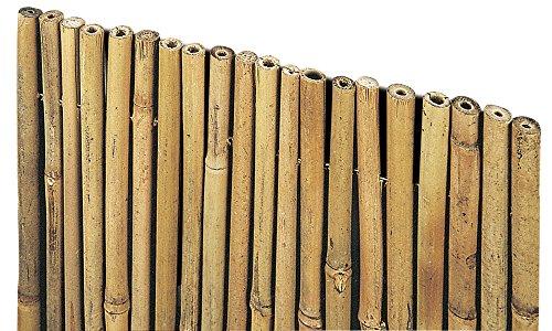 VERDELOOK Arella River in cannette di Bamboo Pieno, 1.5x3 m, coperture recinzioni