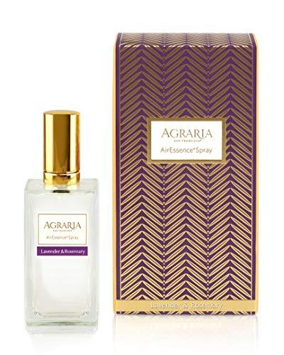 AGRARIA Luxury AirEssence Freshening Fragrance Spray, 3.4 Ounces (Lavender & Rosemary)