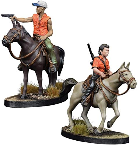 2 Tomatoes Games- The Walking Dead - Booster Maggie y Glenn a Caballo (W5), Multicolor (5060469663012)