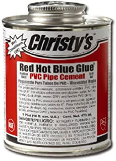 T Christy Enterprise RH-RHBV-QP Christy'S Glue Low Voc, Red Hot Blue 4 oz Blue