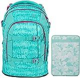 Satch Pack Aloha Mint 2er Set Schulrucksack & Heftebox Mint