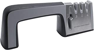 Suiwotin Premium Knife Sharpener, Kitchen Knife Sharpener 4 in 1 Non-slip Safely Sharpen Knives Helps Repair, Restore and ...