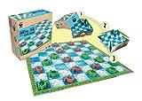 Terra Toys 29121-WWF-Damespiel Schildkröten -